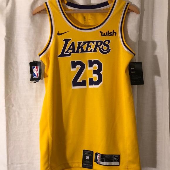 d960bcee Nike Shirts | Mens La Lakers Lebron James Swingman Jersey Nwt S ...